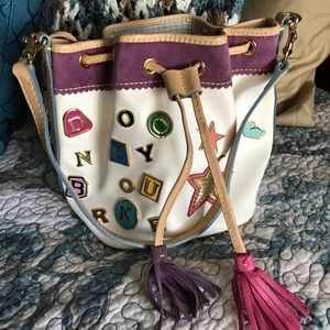 Dooney & Bourke Alphabet Charm mini Bucket Bag #6